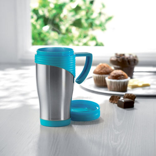 Taza de acero inoxidable 455 ml-OUTLET